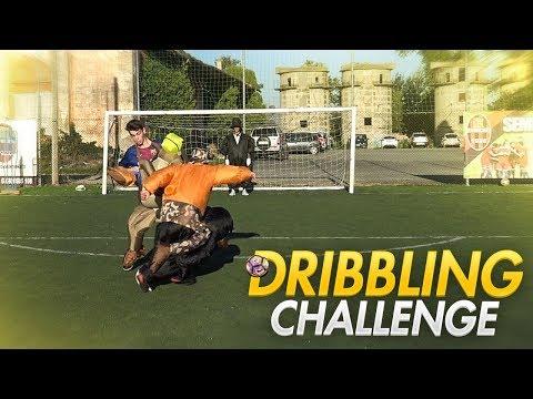 DRIBBLING CHALLENGE Con VESTITI GONFIABILI!!!! | SPECIALE 50.000 ISCRITTI