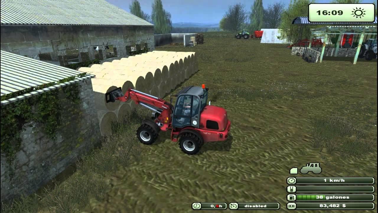 Farming Simulator Feeding Cows YouTube - Farming simulator 2015 us map feed cows