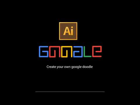 Design Tutorial | How To Create Your Own Google Doodle In 2 Minutes