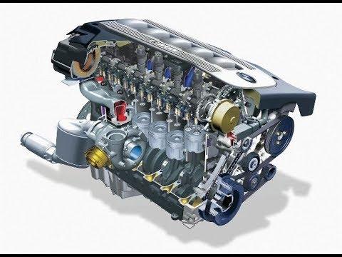 Сборка двигателя М57 BMW часть1