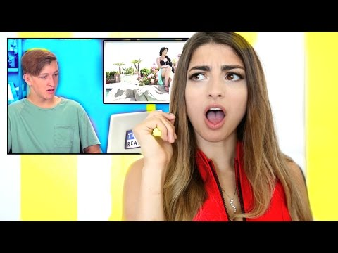 Rclbeauty101 Reacts to Teens React to Rclbeauty101!