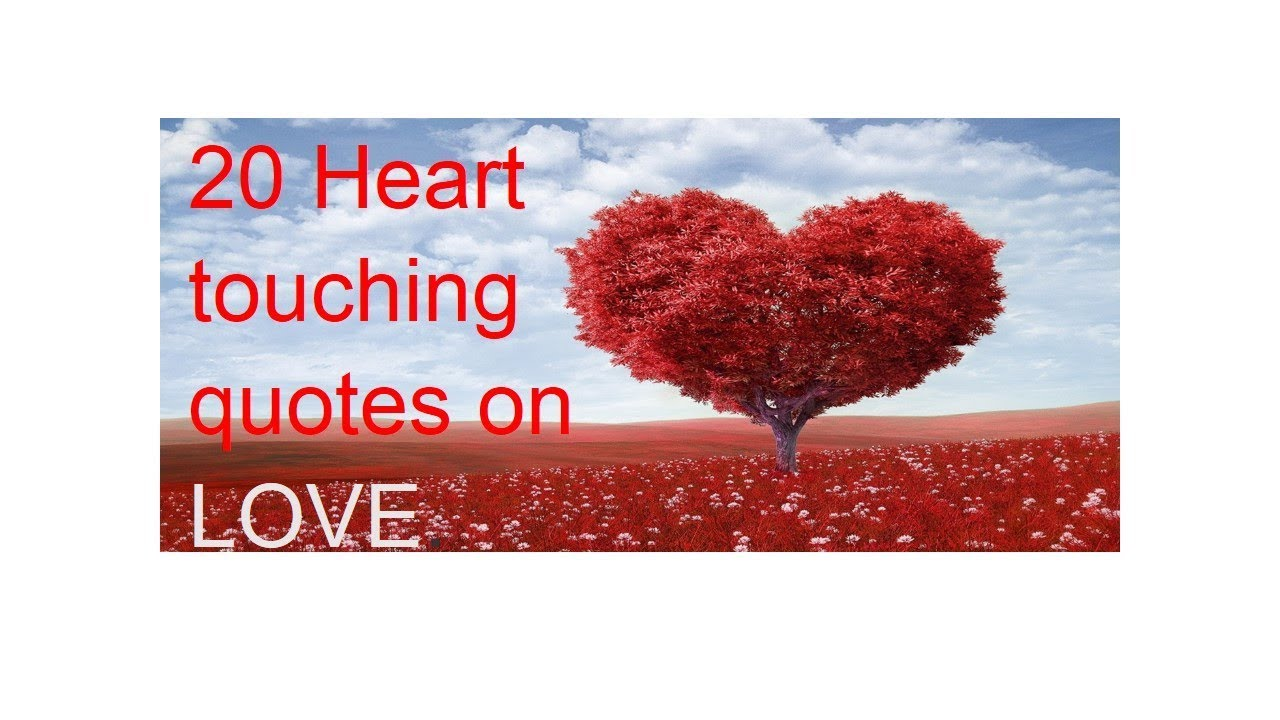 20 Heart Touching Love Quotes Love Thoughts Valentine S Day