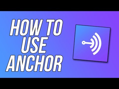Easiest way to Make a Podcast/Radio Station - How to use Anchor! (Surprise at end 😉)