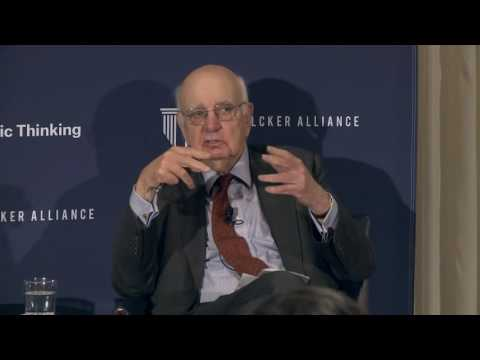 Volcker on the Treasury and the Fed, Regulation and More