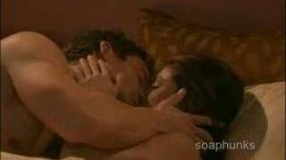 Eric Martsolf - shirtless in bed