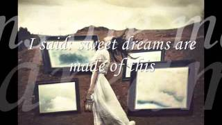 Tori Amos  - Sweet Dreams lyrics (Eurythmics cover)