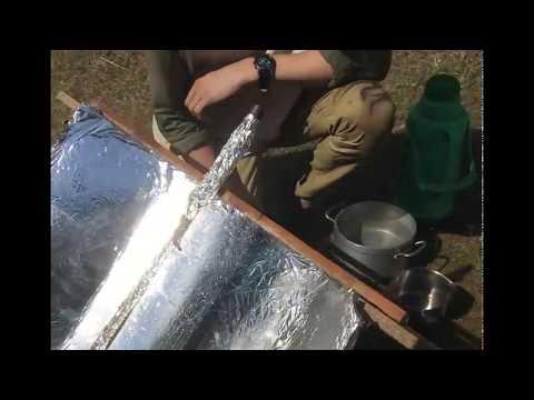 Solar Trough built in Malawi