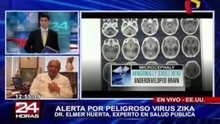 Medidas de prevención ante inminente llegada del virus del Zika al Perú (2/2)