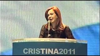 Discurso Cristina Fernández. Cierre de campaña Teatro Coliseo. Cristina Kirchner Presidenta 2011