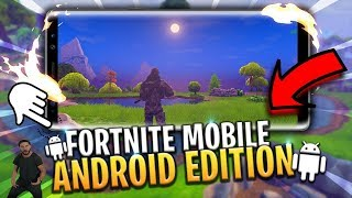 FORTNITE for ANDROID finally !!! Download!!! FUNCTION AL 101% - mobile fortnite