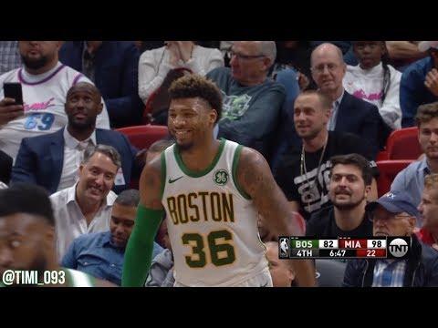 Marcus Smart Highlights vs Miami Heat (18 pts)