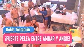 Doble Tentación - ¡Fuerte pelea entre Ámbar y Angie! / Capitulo 34