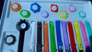 Watches and bands set for girls and also for kids for their style and fashion