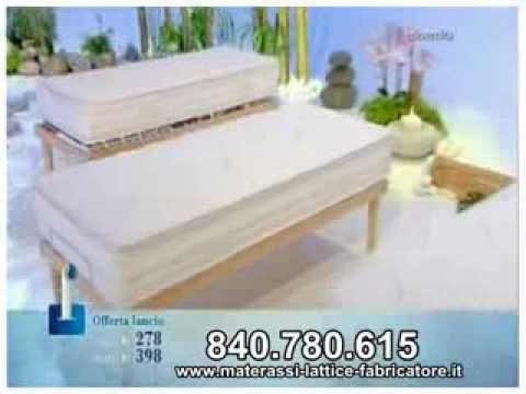 Materassi In Lattice Fabricatore.Materasso Bio Base E Body Memory Fabricatore