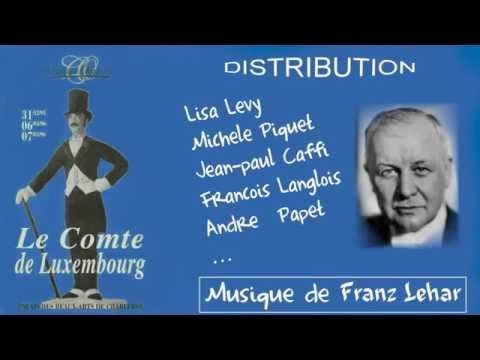 """Les Alain(s) présentent """"Les Belles Années de l'Opérette"""" LE COMTE DE LUXEMBOURG (extraits Film 2)"""