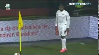 Trabzonspor: 0- Akhisar Belediyespor: 1 Douglao (Dk.21) Türkiye kupası