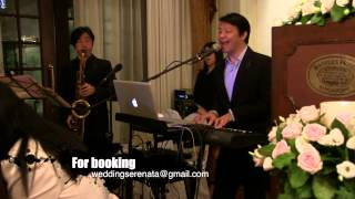 Wedding singer Raffles Hotel Singapore East India Room