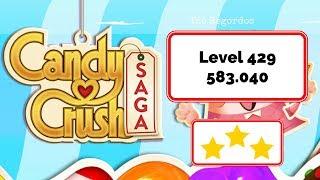 Candy Crush Saga Level 429 🍬 No Boosters