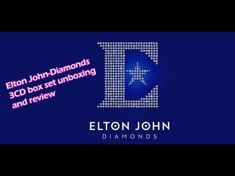 Elton John-Diamonds 3CD Box Set Unboxing/review