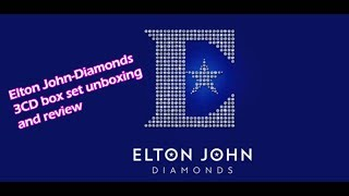 Elton John-Diamonds 3CD box set unboxing/review