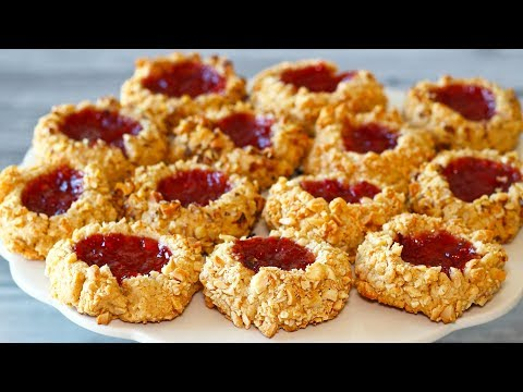 How to Make Peanut Butter & Jam Thumbprint Cookies | El Mundo Eats recipe #31