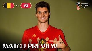 Thomas Meunier (Belgium) - Match 29 Preview - 2018 FIFA World Cup™