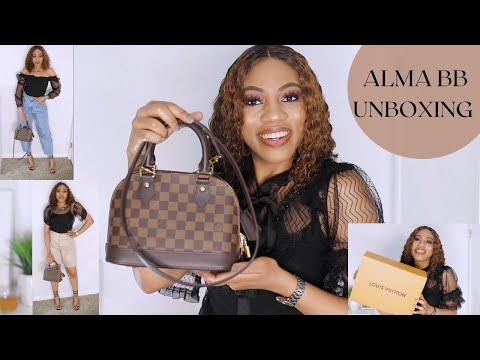 """LOUIS VUITTON ALMA BB