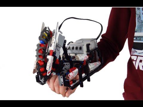 MINDSTORMS ROBOTIC HAND - YouTube
