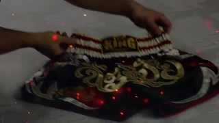 Short Muay Thai Top King Tribal