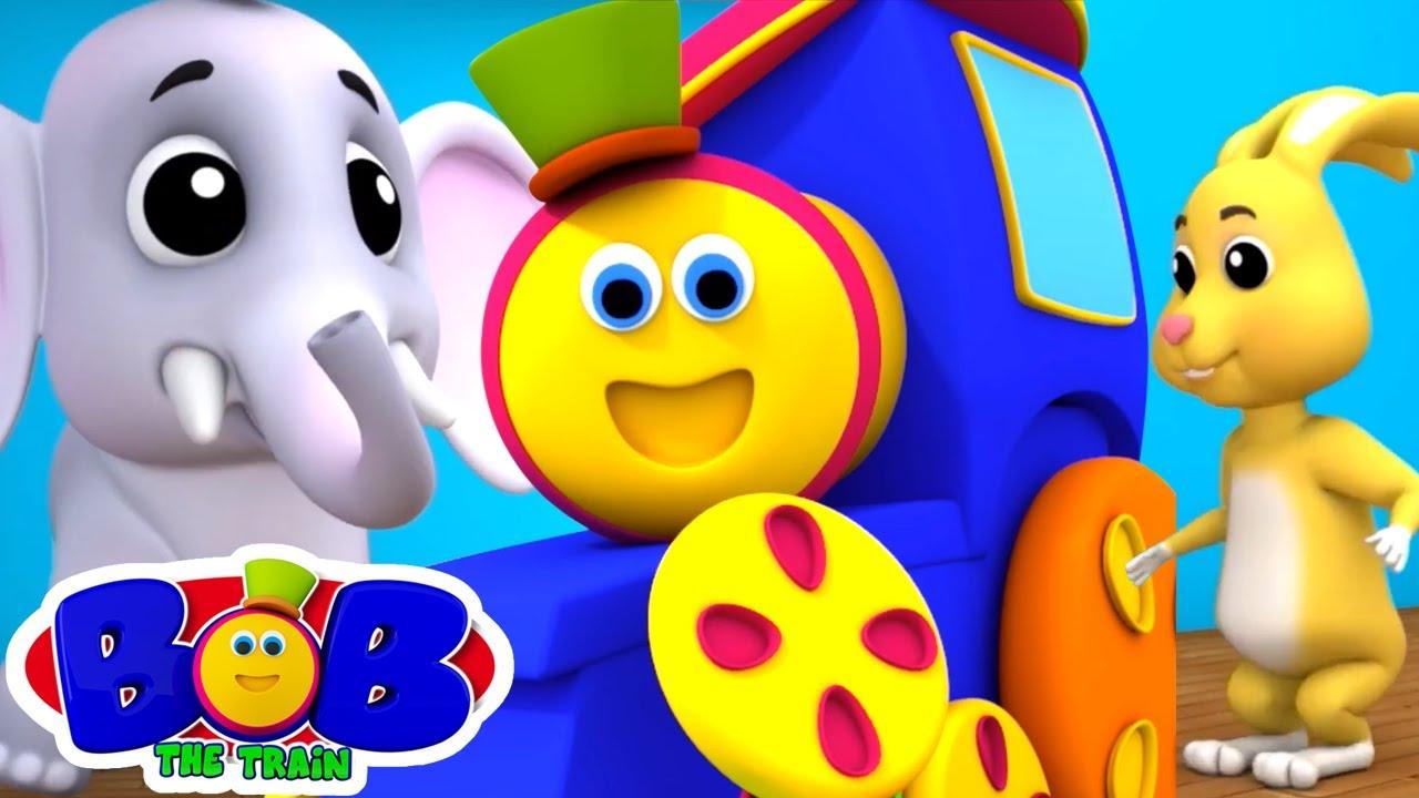 反対の歌| 子供のための童謡| 教育ビデオ| Bob The Train Japan |幼稚園