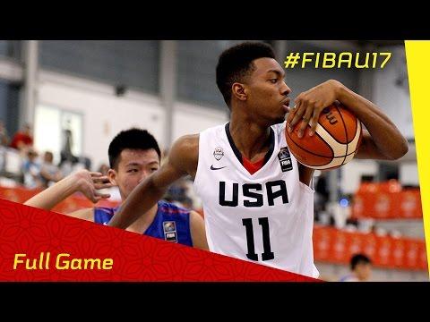 USA v Chinese Taipei - Full Game - 2016 FIBA U17 World Championship