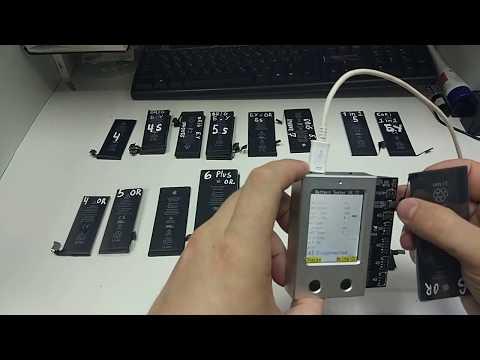 Как отличить оригинальные аккумуляторы от копии на IPhone 6,7,X