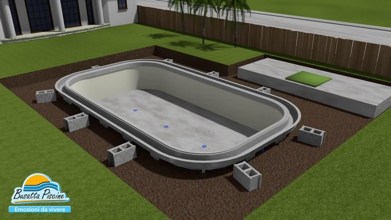 Quanto Costa Piscina Interrata piscine interrate busatta - costruzione di una piscina a sfioro