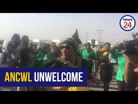 ANCWL turned away from Marikana before Nkosazana Dlamini Zuma can exit her vehicle