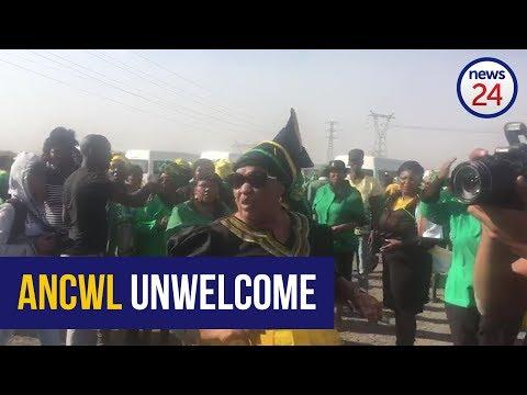 ANCWL turned away from Marikana before Nkosazana Dlamini Zuma can exit her vehicle