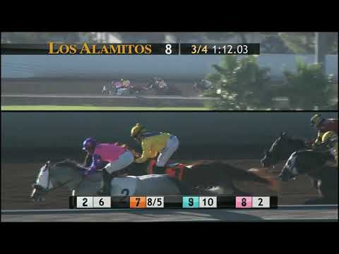 DABSTER sets a track record in the Los Alamitos Special!!