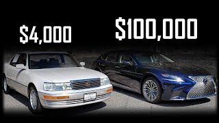 2020 Lexus LS500h vs 1994 Lexus Ls400...Battle Between Legends