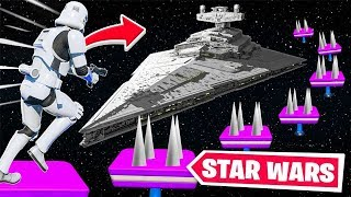 Der STAR WARS Deathrun in Fortnite!