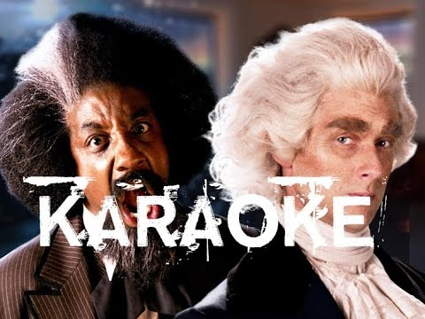 [Karaoke] Fredrick Dougless vs Thomas Jefferson. Epic Rap Battles of History. Season 5