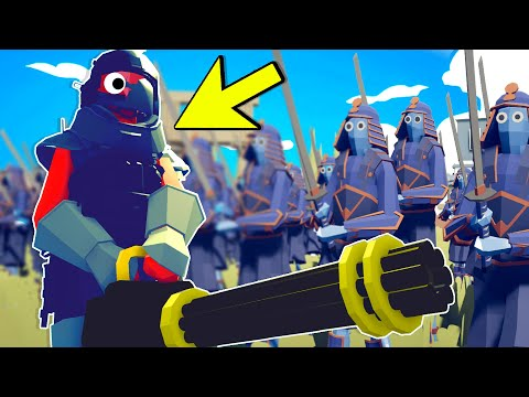 I Hired SUPER SOLDIER Units To MURDER Every Faction In Totally Accurate Battle Simulator (TABS Mods)