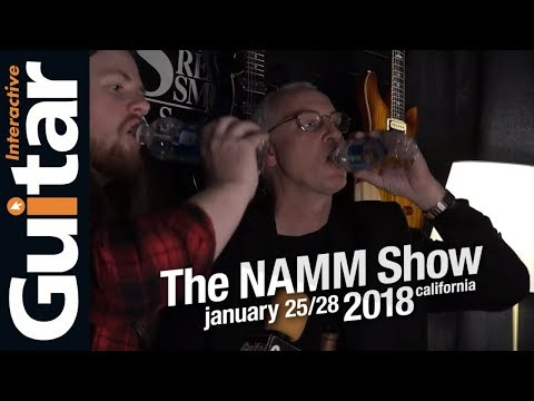 NAMM 2018 | Paul Reed Smith Shares a $200 Bottle of Scotch -- Interview