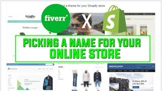How To Pick A Shopify Store NAME and LOGO! Easy Tutorial