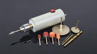 How to Make Powerful Drill Machine Using PVC Pipe