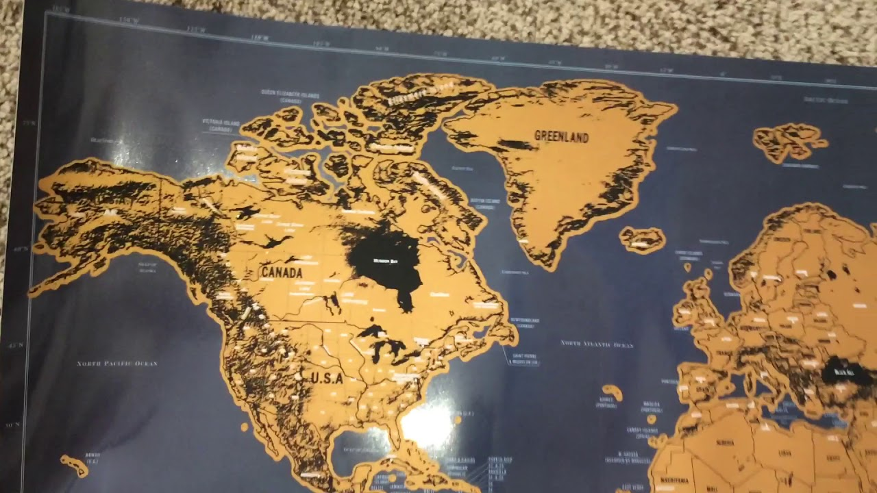 Shiny journey ultimate scratch off world map youtube shiny journey ultimate scratch off world map gumiabroncs Image collections