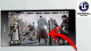Nuevo Juego con motor Gráfico Unreal Engine 4 para Android Trailer /el mejor juego del estrategia Ex
