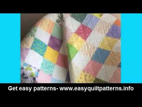 basic quilt patterns for beginners free easy scrap quilt block ... : block quilt patterns for beginners free - Adamdwight.com