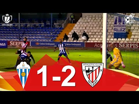 Alcoyano CD Ath. Bilbao Goals And Highlights