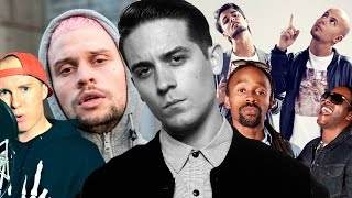 G-EAZY REACTS TO NORWEGIAN RAP VIDEOS.  | YLTV