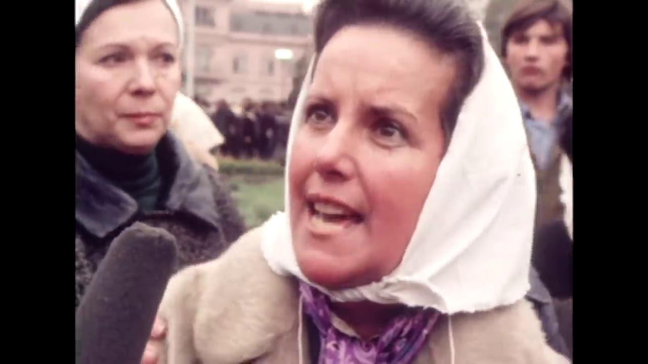 Entrevista a Madres de Plaza de Mayo en 1978.