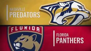 Нэшвилл Предаторз - Флорида Пэнтерз